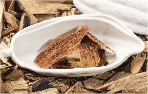 gastronomía efecto madera