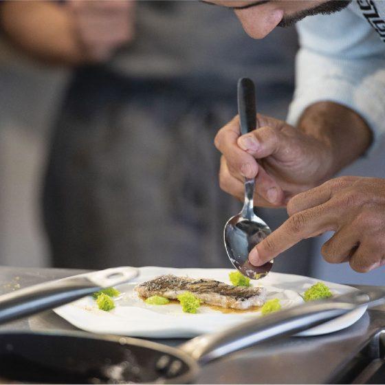 Joao Batalha Sumiller en el Restaurante Donaire
